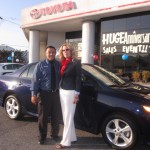 Charmaine with Salesman pic